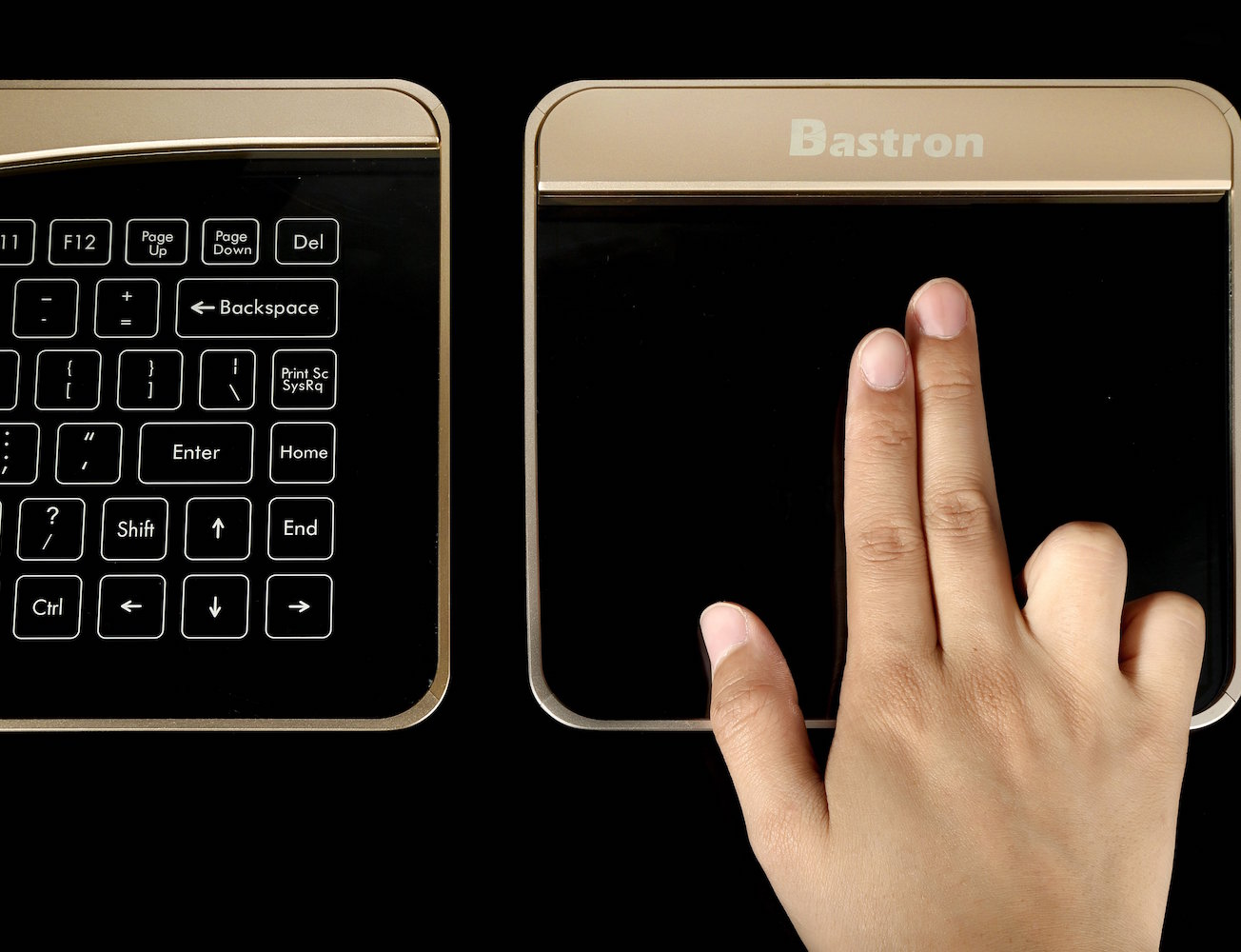 Magic Class Touchpad Trackpad with Gesture Control by Bastron 02