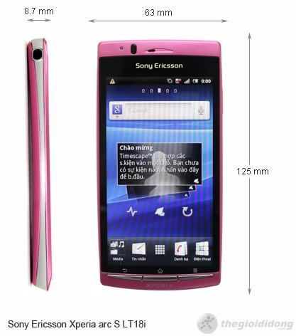 Sony Ericsson Xperia arc S LT18i | Thegioididong.com