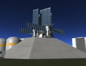 This stunning piece of equipment was seen earlier today on test pad #3 at the RUD space center as it underwent testing.