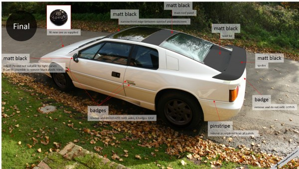 Chrome Lotus Esprit Design - Final