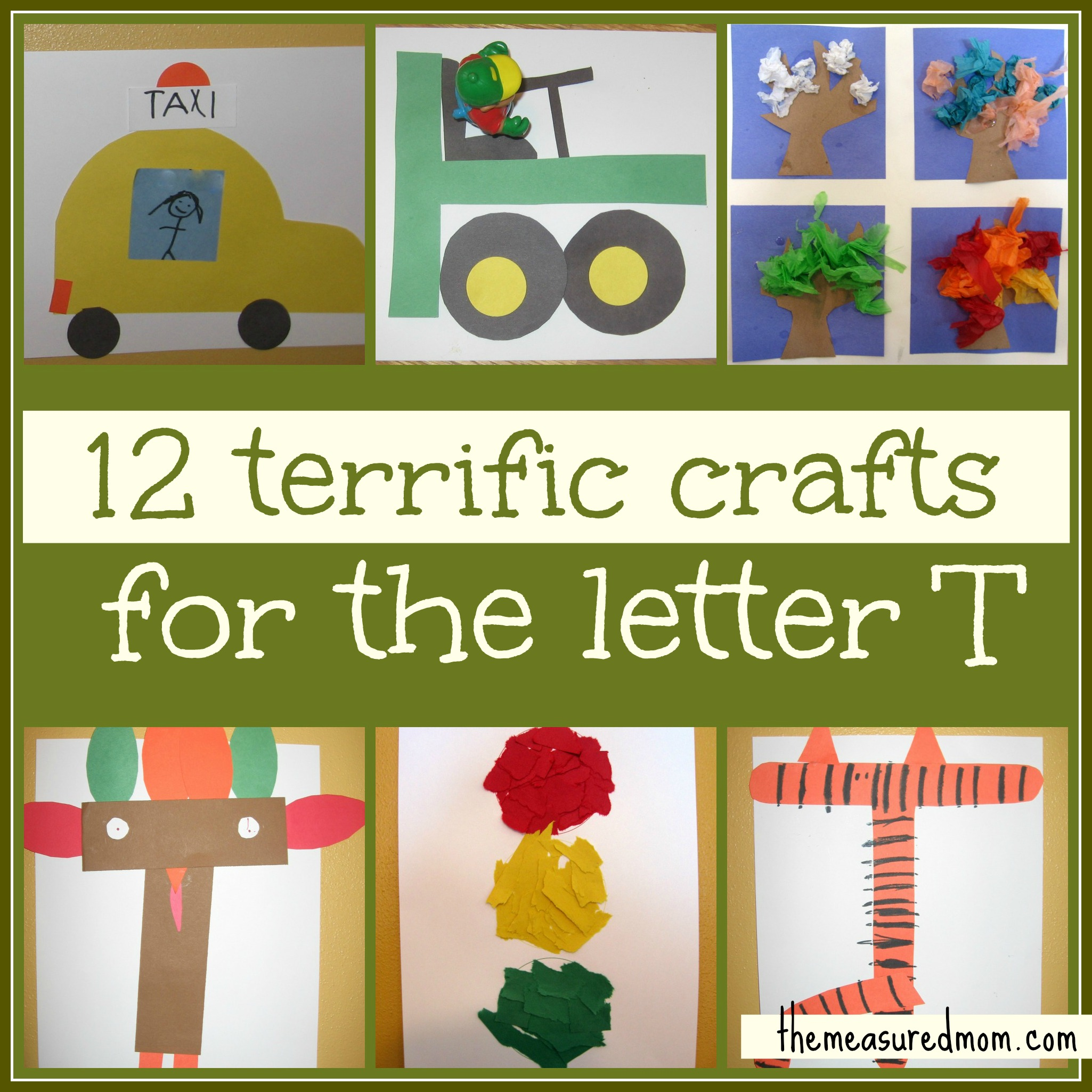 Preschool Crafts For Letter T