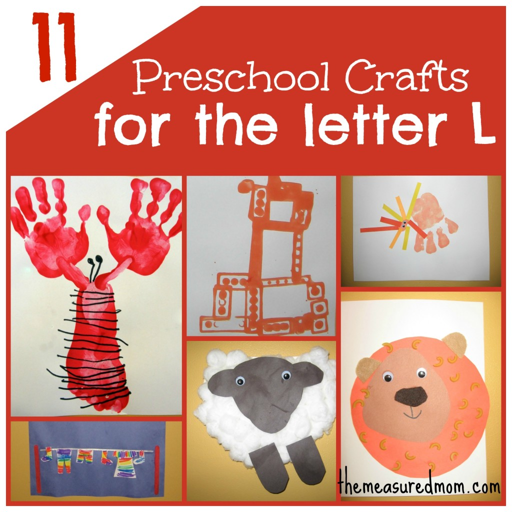 11 Crafts For Preschool The Letter L