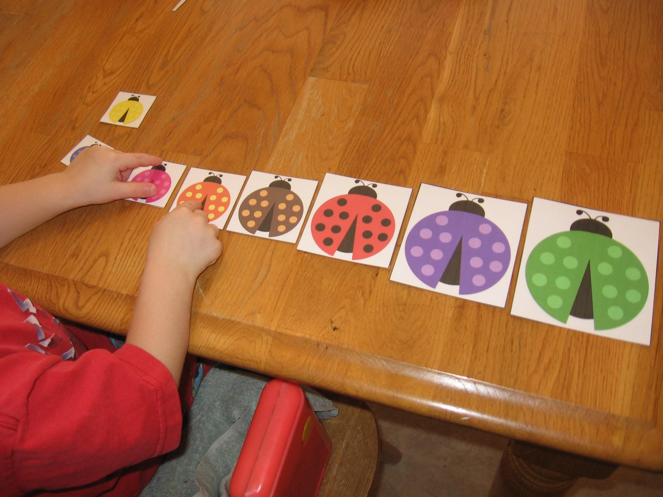Worksheets Kindergarten Ordering By Size