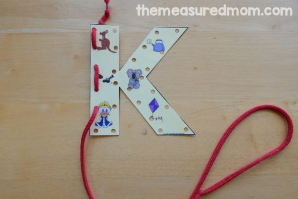 Get cold and warm weather activity ideas, including kickball, hopscotch, planning flowers, watching birds, and more. Letter K Activities For Preschool The Measured Mom
