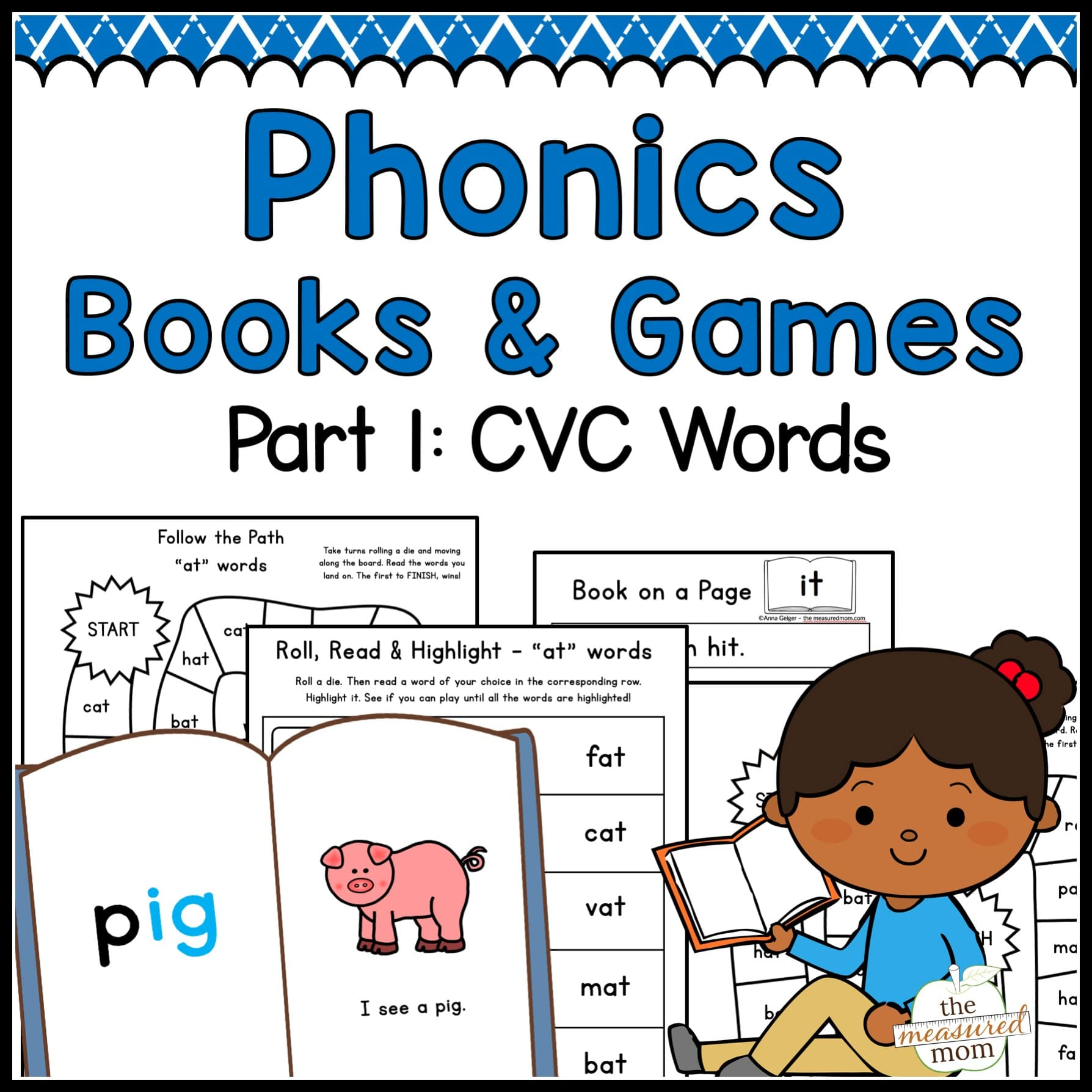Phonics Books Amp Games Cvc Words