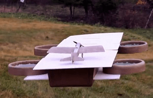 Avengers Helicarrier Drone Flite Test | The Escapist