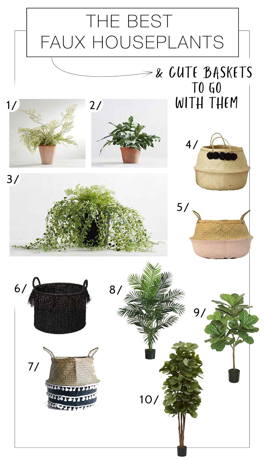 Easiest Houseplants Ever Our Very Favorite Fauxs The Mom Edit