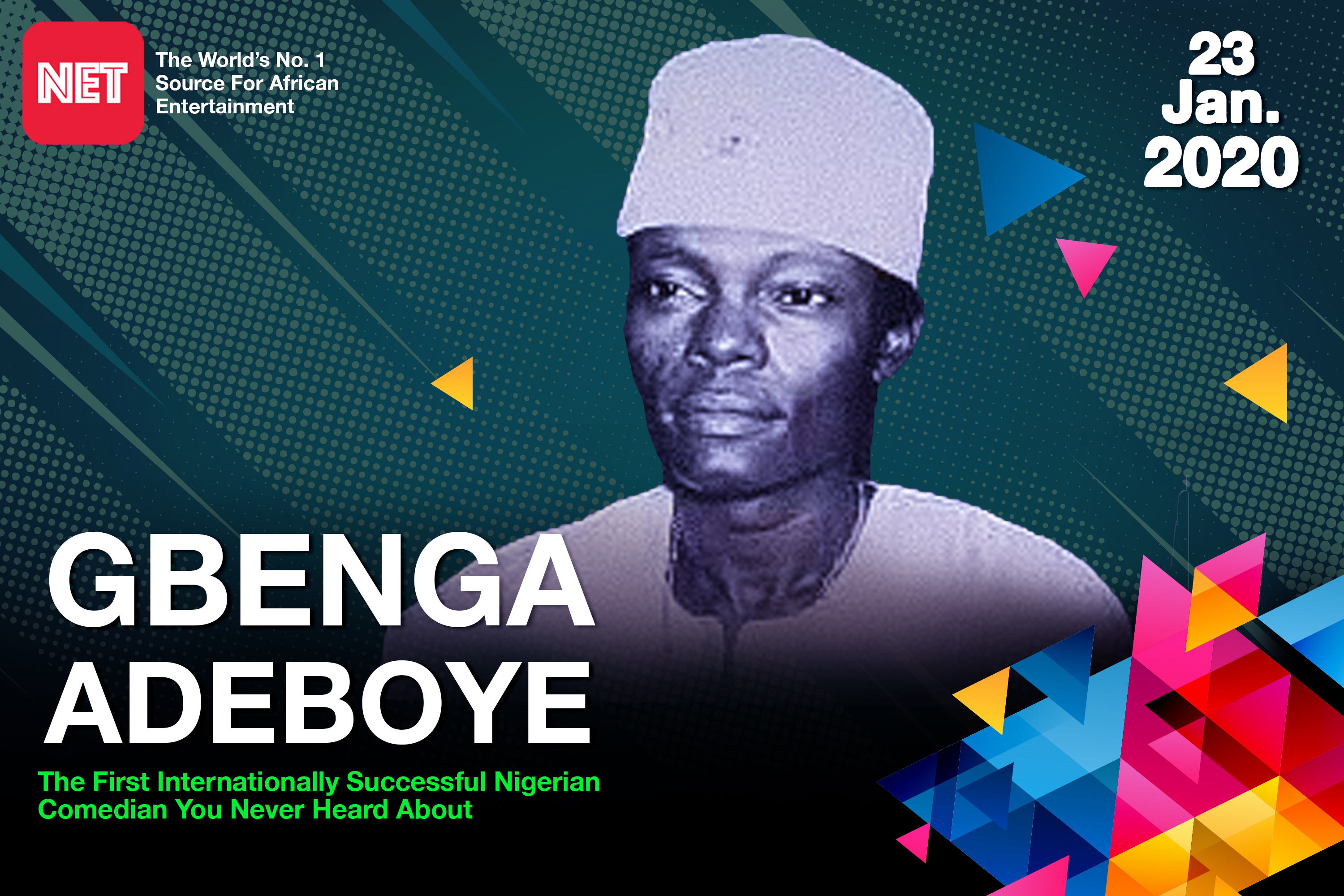 Gbenga Adeboye: The first internationally successful Nigerian comedian you never heard about