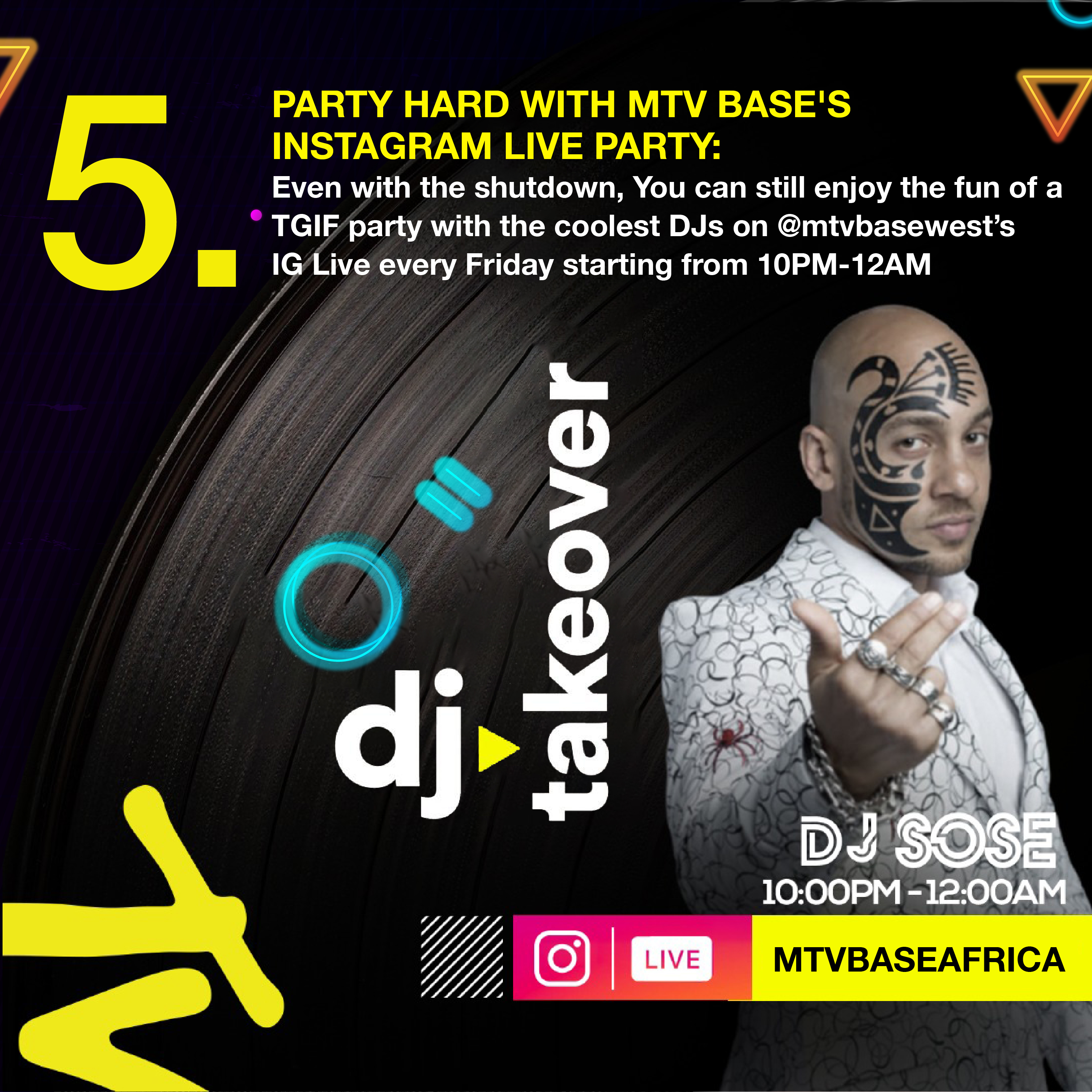 The Live IG Party From MTV Base is how to Spend Your Friday Night