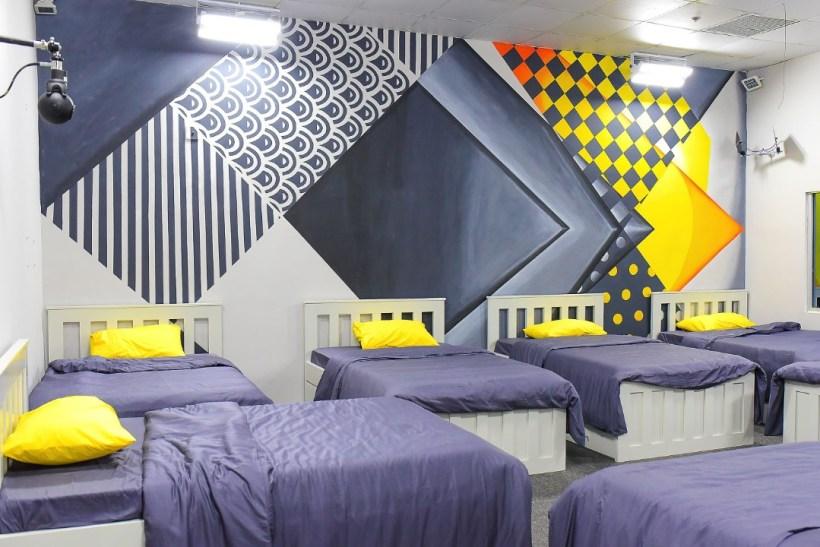 Bedroom at BBNaija Lockdown House