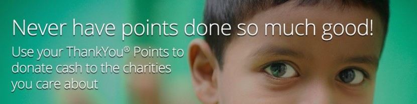 You can donate Citi ThankYou points to various charities through Points Worthy.