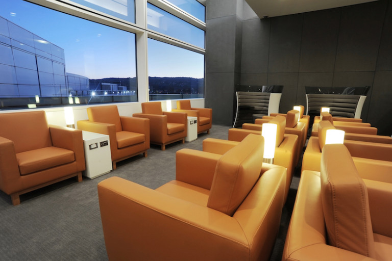 The Cathay Pacific Lounge at SFO recently underwent a dramatic expansion. Image courtesy of Cathay Pacific.