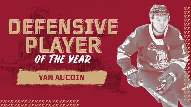 Defensive Player of the Year Award: Yan Aucoin – Acadie-Bathurst Titan