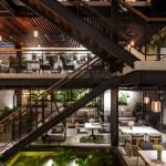 Le House Designs A Secret Garden Cafe In Hanoi