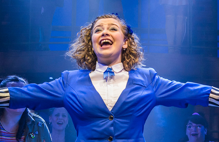 Carrie Hope Fletcher dans Heathers The Musical. Photo: Tristram Kenton