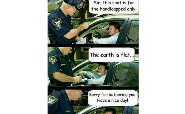 Do You Know About Flat-Earthers? The Memes Explain