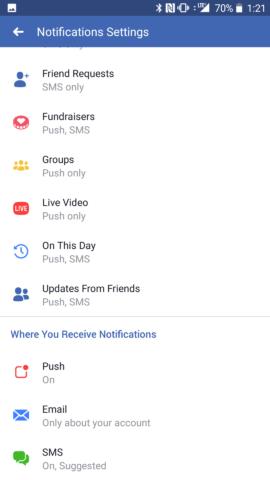 Facebook Live Video Settings