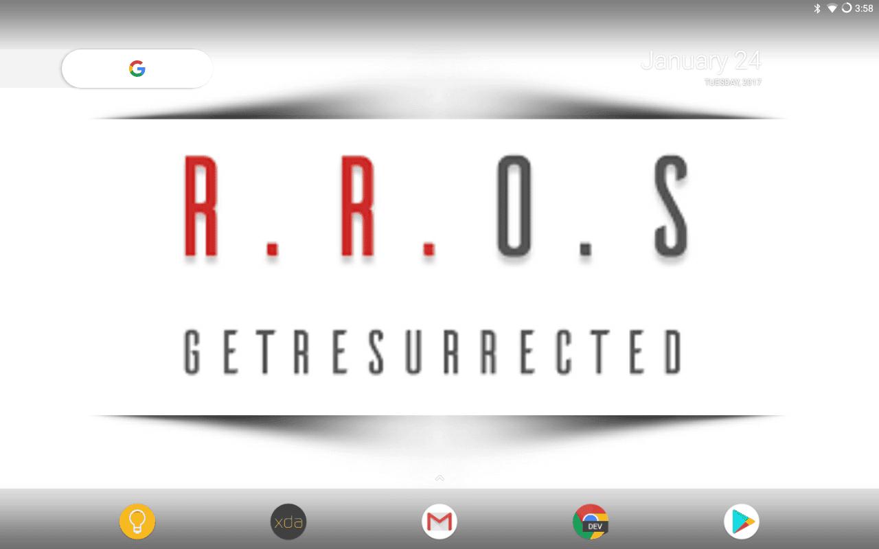 Resurrection Remix 5 8 0 Rom