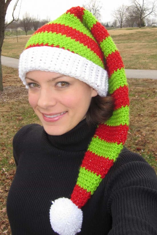 Knitted Baby Elf Hat Pattern