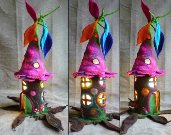 Felt Fairy Houses Are Just So Incredibly Magical The WHOot