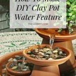 Diy Clay Pot Water Feature Instructions Video The Whoot
