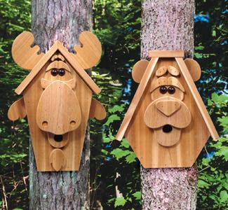 wood bird houses plans