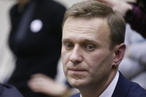 Russian opposition leader Alexei Navalny submits his documents to be registered as a presidential candidate at the Central Election Commission in Moscow, Russia December 24, 2017. Credit: Reuters/Tatyana Makeyeva