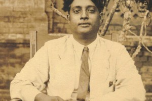 Satyendra Nath Bose at Dacca University, Bangladesh, in the 1930s. Credit: Wikimedia Commons