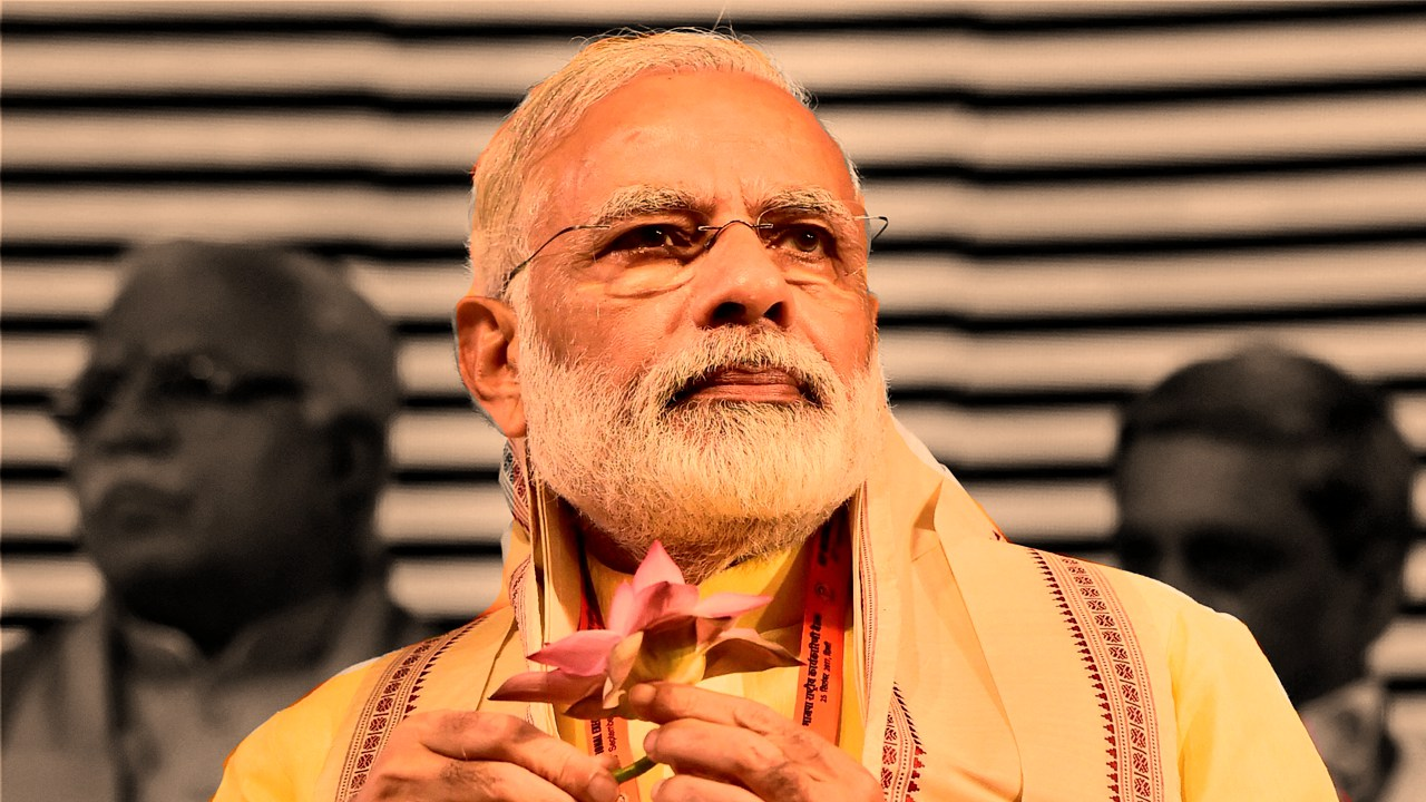 Modi speaks tough as more statues are targeted