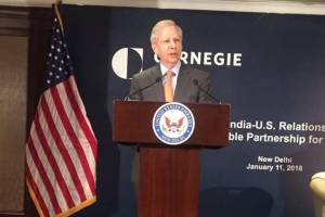 "In his inaugural policy speech on US-India relations, Juster said that the US expects India to join export control regime Australia Group ""very soon"". Credit: Twitter"