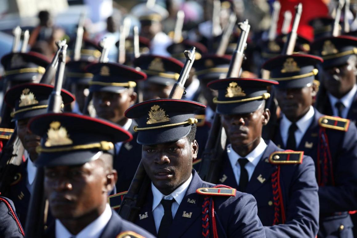 Haiti's government took the controversial decision to reinstate its military last year. Credit: Reuters/Andres Martinez Casares