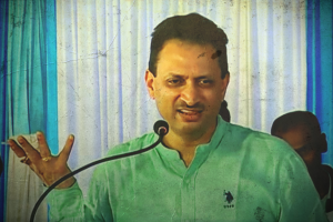 Union minister Anantkumar Hegde. Credit: Youtube