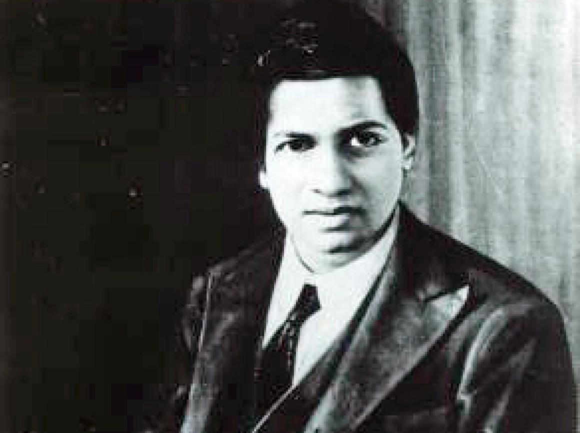 Srinivasa Ramanujan, some time before 1920. Credit: SpacemanSpiff/Wikimedia Commons (public domain)