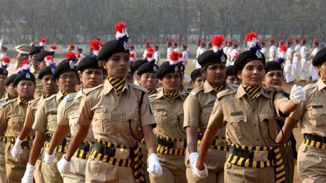 Despite certain efforts, a lot needs to be done to make the police force a better workplace for women. Credit: PTI
