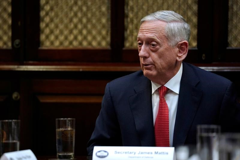 Mattis Warns Syria To not Use Chemical Weapons