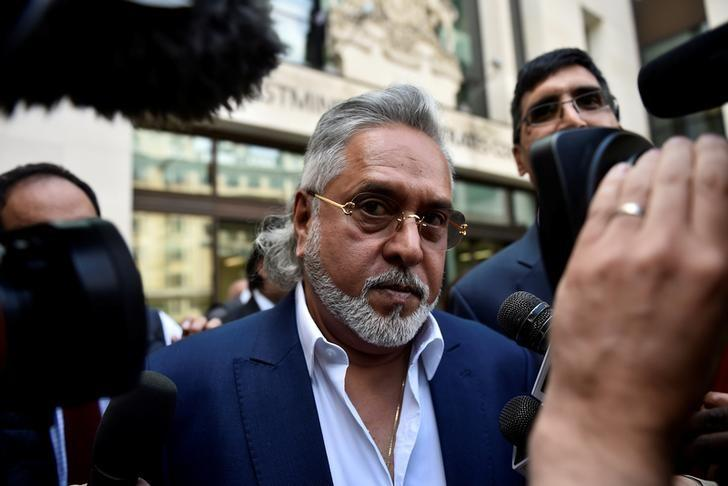 Vijay Mallya leaves after an extradition hearing at Westminster Magistrates Court, in central London, Britain June 13, 2017. Credit: Reuters/Hannah McKay