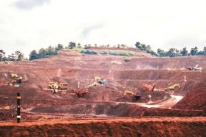 Iron-ore mining in Goa. Credit: PTI