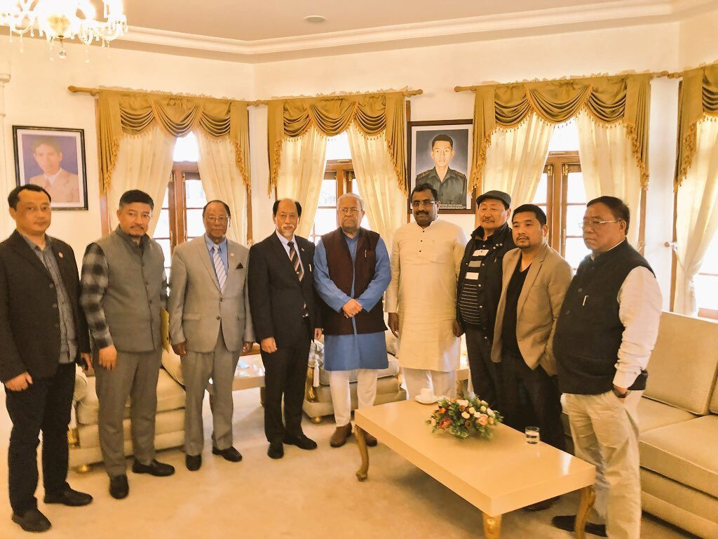 Team Rio, Zeliang meet Nagaland Governor
