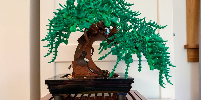 A lego bonsai tree.