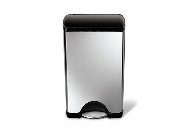 Best Online Deals  Reviews by Wirecutter   A New York Times Company Simplehuman Rectangular Step Trash Can