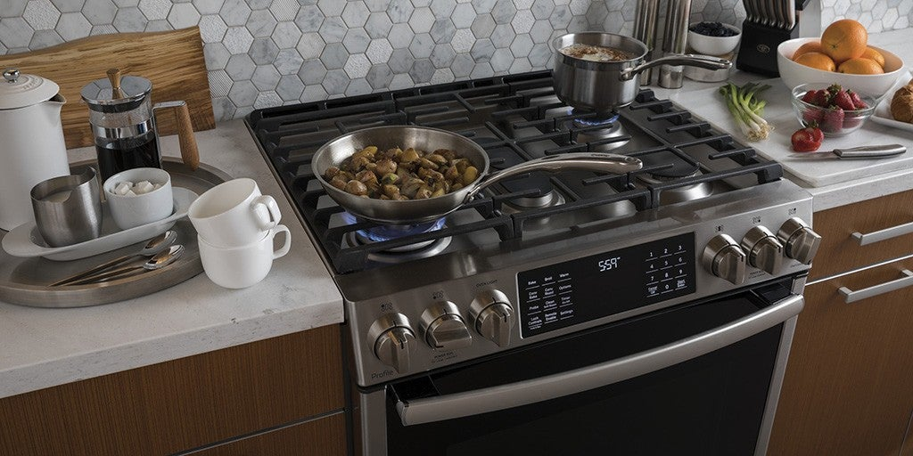 the best slide in gas ranges reviews