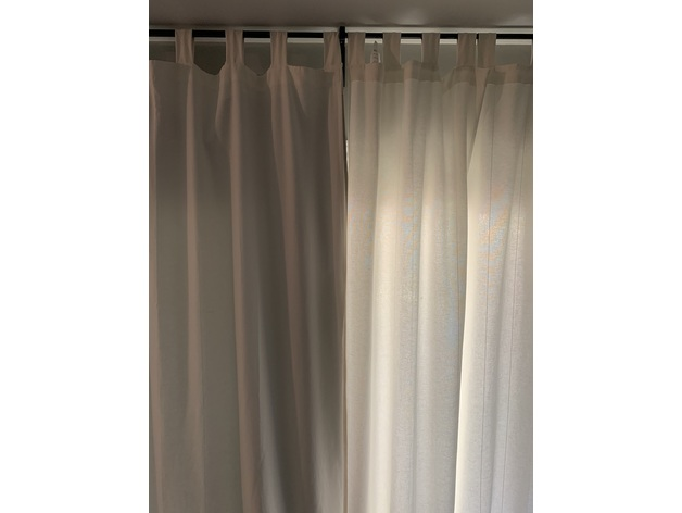 ikea lenda blackout curtain hook by