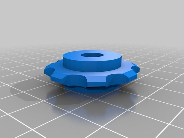 Bike Chain Sprockets By Wware Thingiverse