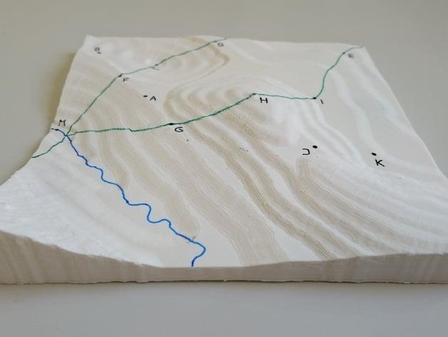 3d Print A Landscape Model By Kristjanrea Thingiverse