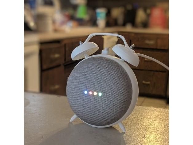 Retro Alarm Clock Stand For The Google