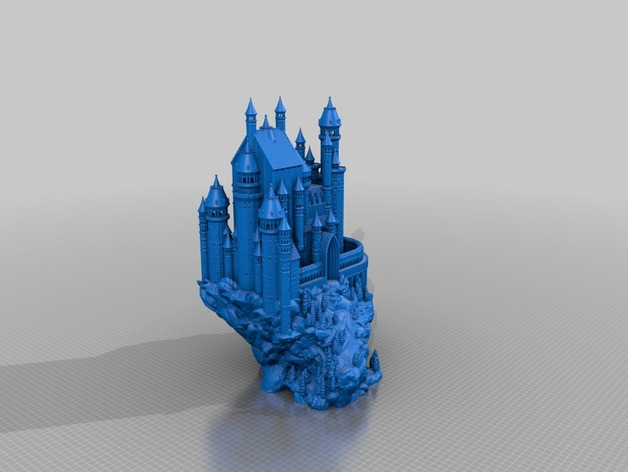 Medieval Castle File One Piece Fix By TobyCWood Thingiverse