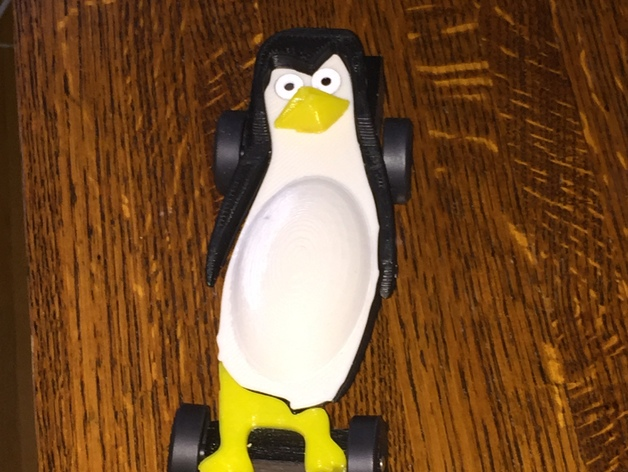 Pinewood Derby Car Penguin Design By Tnever Thingiverse