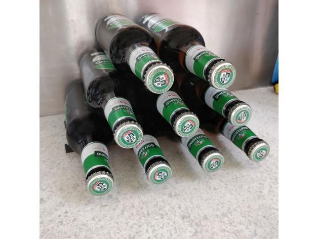 beer bottles rack bottle holder range