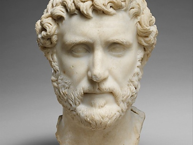 Marble Portrait Of The Emperor Antoninus Pius By Bdipaolo Thingiverse