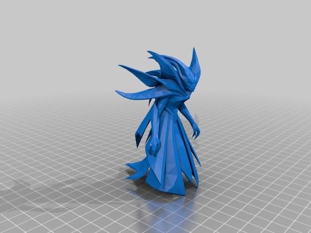 Spectre Dota 2 By TheVelocityRaptor Thingiverse